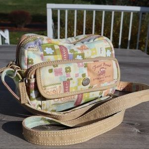 Fossil cute crossbody adjustable purse